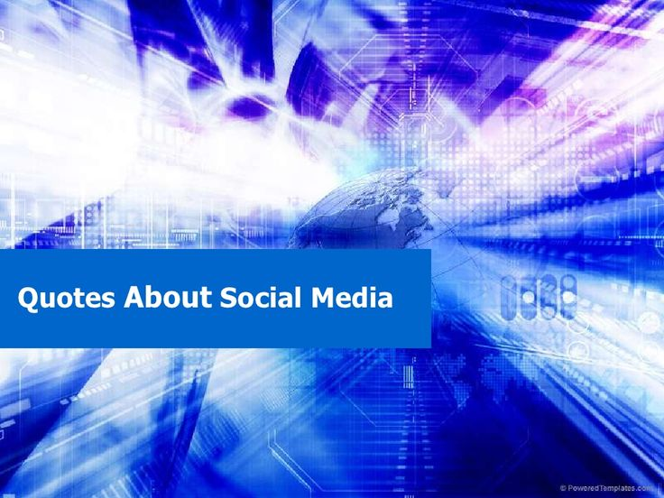 quotes-about-social-media-4152543 by osamaarshad via Slideshare