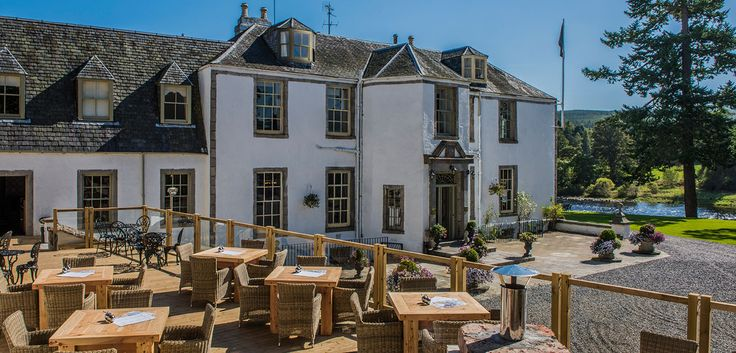 Banchory Lodge is the perfect retreat nestled in the heart of Royal Deeside. Set on the banks of the River Dee with fabulous views of the river and countryside beyond.