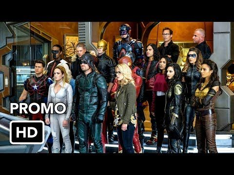 DCTV Crisis on Earth-X Crossover Promo #3 The Flash, Arrow, Supergirl, DC's Legends of Tomorrow (HD) - YouTube