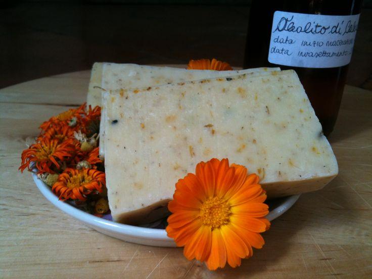 Ricetta di autoproduzione: sapone alla calendula e camomilla | La saponaria