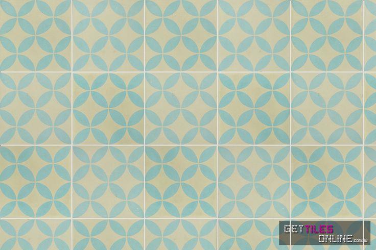 Encaustic 7 200x200 (Code:00641) - Get Tiles Online