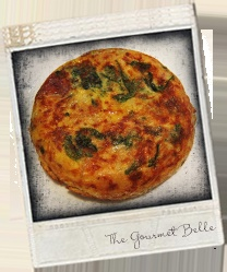 Jamon and Spinach Tortilla