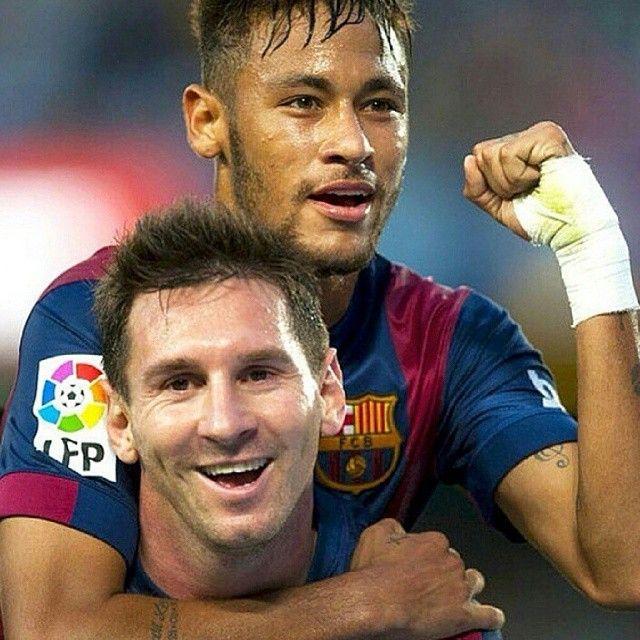 Messi's cheesy laugh