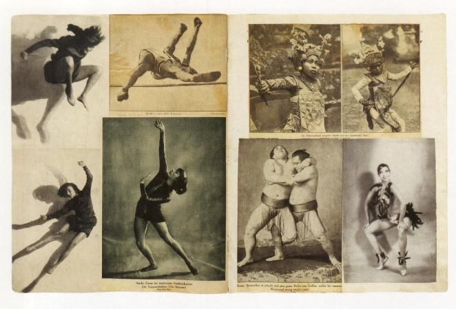 "Album,c.1933 by Hannah Höch ""Dance, when you're broken open. Dance, if you've…"