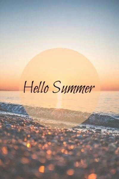 Hello Summer  Season w/ words  Pinterest  Summer, Happy and Summer solstice
