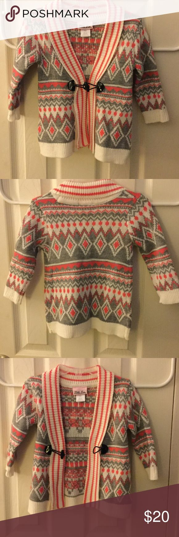 Baby girls sweater Baby girls open sweater with one fancy button Shirts & Tops Sweaters #babygirlsweaters