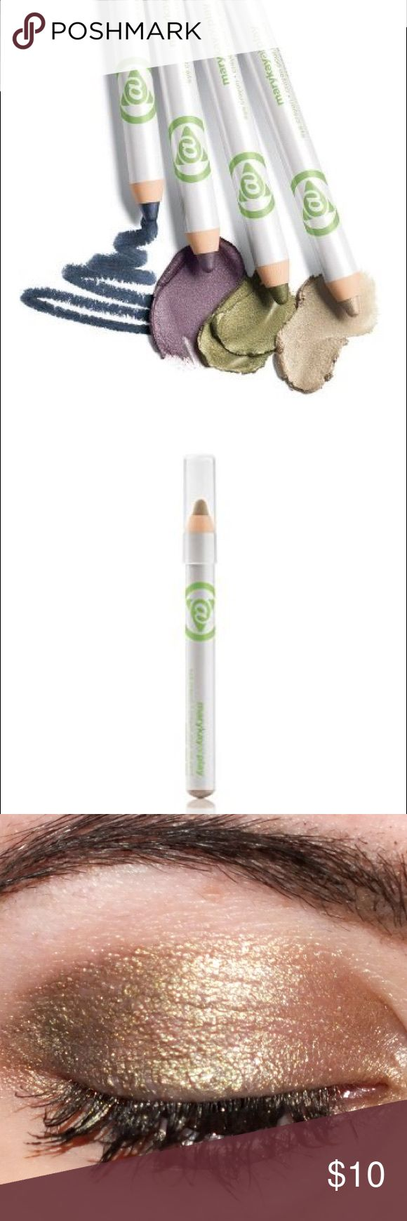 🌷Last Ones!🌷 Mary Kay @ Play Eye Crayon Ultra-creamy texture glides on smoothly without pulling or tugging. Intense, true color payoff that doesn't fade. Shade the lid, smudge along the lashline, or highlight the brow bone or inner corner of the eye.  Note: In electronic media, true colors may vary. Weight: .08 OZ. NET WT./2.5 g Mary Kay Makeup Eyeshadow
