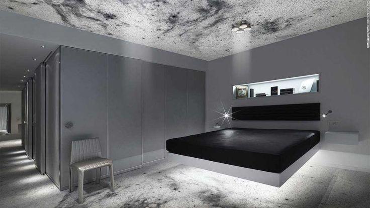 """Kameha Grand Zurich Hotel, Svizzera - L'universo e ciò che nasconde ha sempre affascinato grandi e piccini, non soprende dunque che molti albergatori abbiano deciso di realizzare strutture che si ispirassero ad esso per accontentare gli ospiti con la """"testa tra le nuvole""""."""