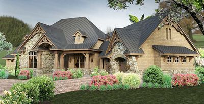 Rustic and Rugged With Bonus Room Above - 16886WG thumb - 09
