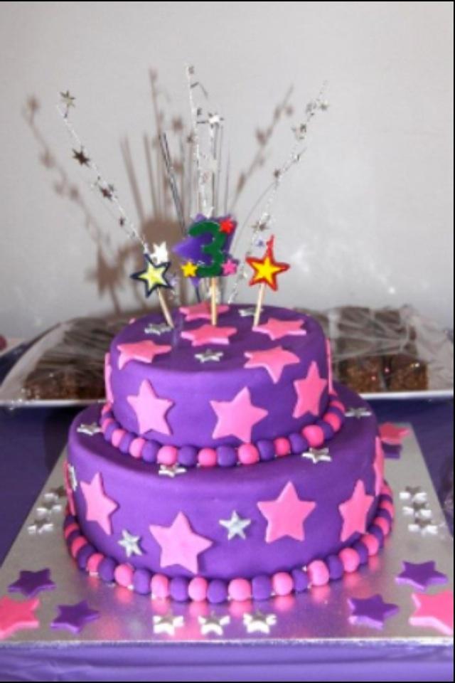 Madison's 3rd birthday cake.