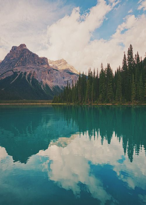 Emerald Lake in Yoho National Park, British Columbia