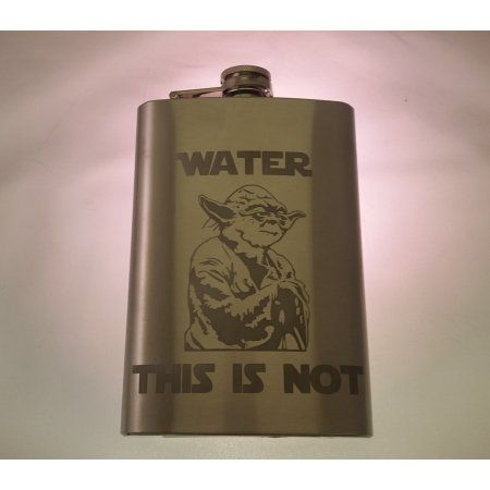 4oz Probably not Water Flask 1-count