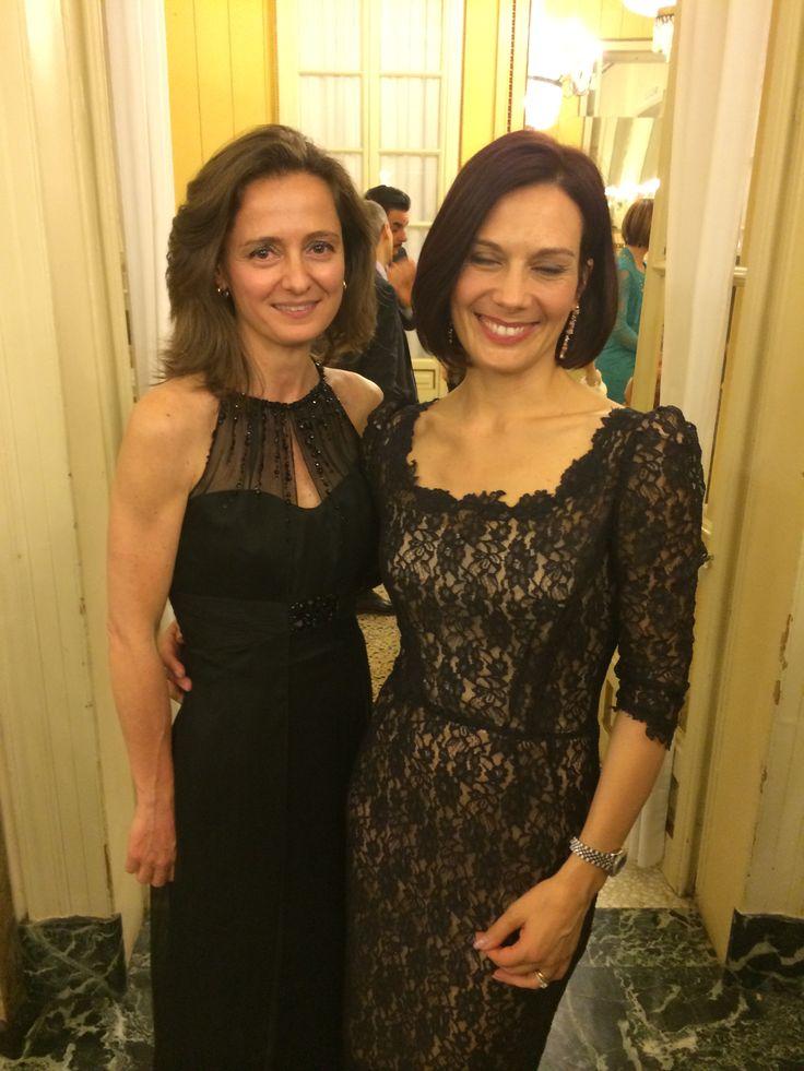 Con #AlessandraRinaudo, la stilista numero uno della #modasposa . Vi aspettiamo per provare i suoi abiti