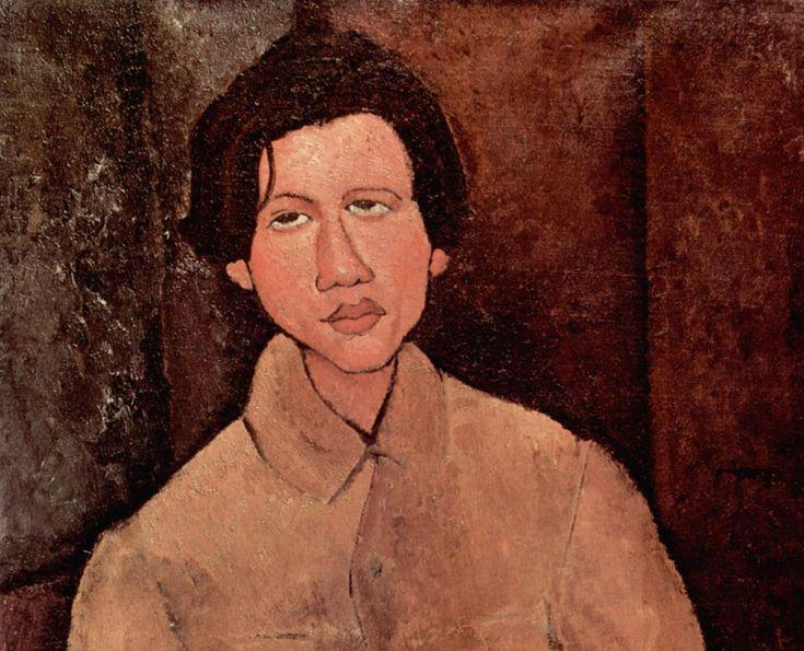 Амедео Модильяни. Портрет Хаима Сутина, 1916