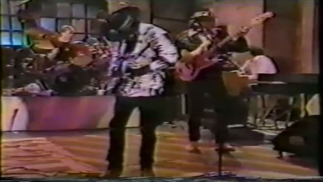 Exactly 29 years ago, Austin's very own Stevie Ray Vaughan and Double Trouble appeared as the SNL musical guest.