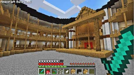 Virtually explore architectural marvels, practice ratio/proportions, and create visualizations for improved reading comprehension using Minecraft.