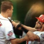 Jonathan Papelbon chokes Bryce Harper during fight (video) - http://blog.clairepeetz.com/jonathan-papelbon-chokes-bryce-harper-during-fight-video/