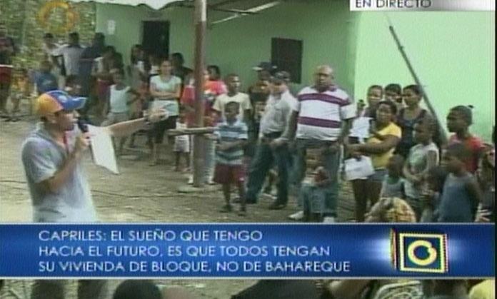 @hcapriles realizó en #Barlovento conversatorio sobre Programa Hambre Cero