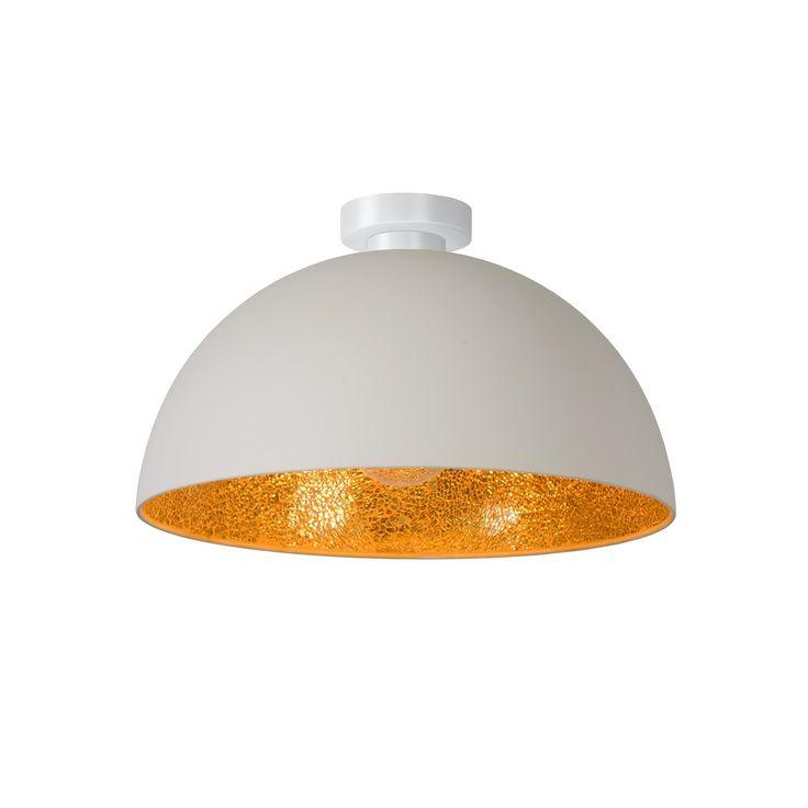 Bestel de Moderne plafonnière Abdelhamid, Wit op Lampgigant.nl ✓ Snel gratis bezorgd ✓ Grootste collectie in NL & BE!