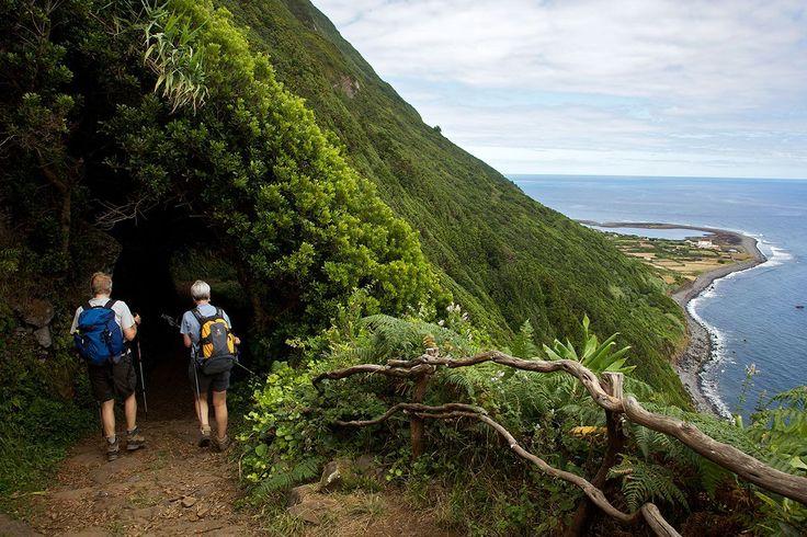 Azores Trails Fajã da Caldeira do Santo Cristo Hiking