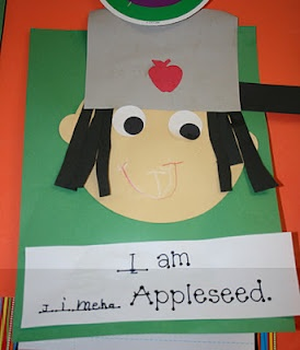 Mrs. Mayas' Kindergarten: I am ____ Appleseed to go with Johnny Appleseed
