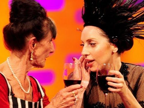 ▶ Lady Gaga meets June Brown - The Graham Norton Show: Episode 5 Preview - BBC One - YouTube. This is just awesome for so many reasons...