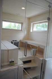 vaalea sauna