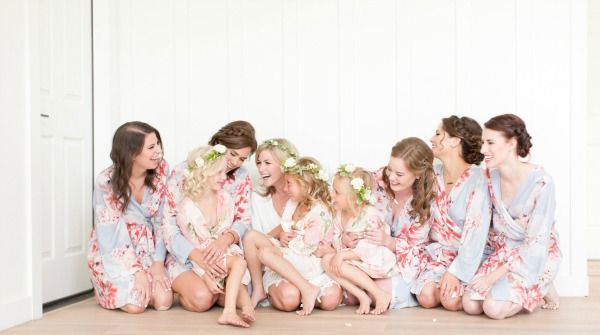 This bride and babes. Captured beautifully with her bride tribe wearing Oceane and Persimmon. Shop at www.PlumPretty Sugar.com.
