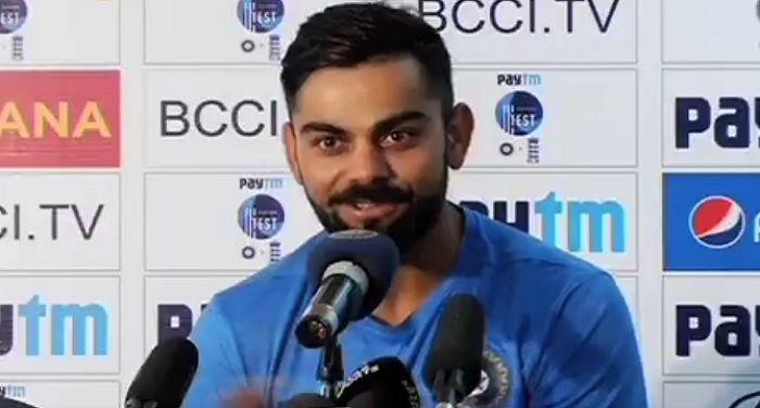 Jadhav is a News Invention of News Age Cricket : Kohli