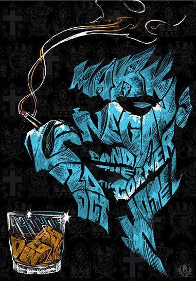 Mark Lanegan poster by Rhys Cooper