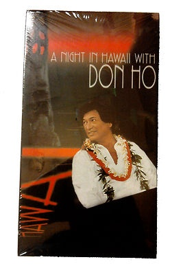 Vintage Hawaii A Night In With Don Ho Vhs 10