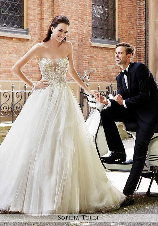 Sophia Tolli Y21668 Marcello Ball Gown Wedding Dress