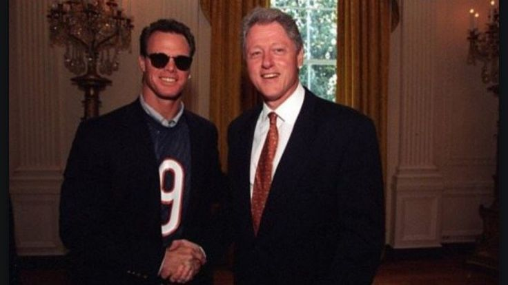 Remember Jim McMahon Wearing Bears Jersey on Packers' White House Visit? -- Jim McMahon, then a backup quarterback, wore a Chicago Bears jersey to the Green Bay Packers' White House visit in 1997. Here's what he had to say about it.