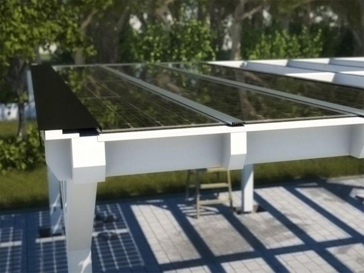 Solar Heisse - Überdachung Holzbauweise