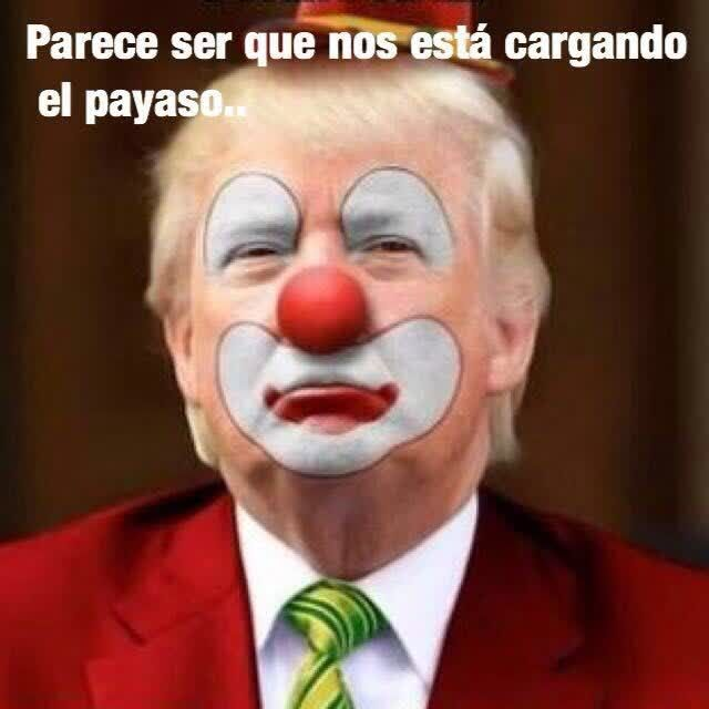 #YaNosCargoElPayaso es tendencia para compartir memes por los resultados de las elecciones. http://mexico.srtrendingtopic.com/trend/86053/2016-11-09/2016-11-09/yanoscargoelpayaso.html