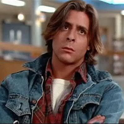 Richard Vernon: You're not fooling anyone, Bender. The next screw that falls out will be you. John Bender: Eat my shorts. Richard Vernon: What was that? John Bender: Eat… My… Shor…