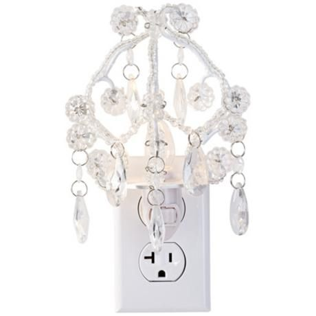Maize Clear Chandelier Night Light Products Night