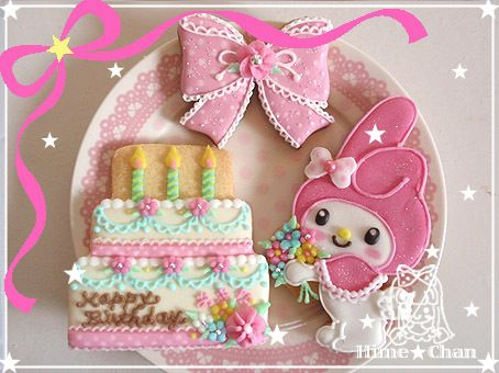 マイメロちゃんクッキー☆の画像 | 姫ちゃんのクッキー屋さん