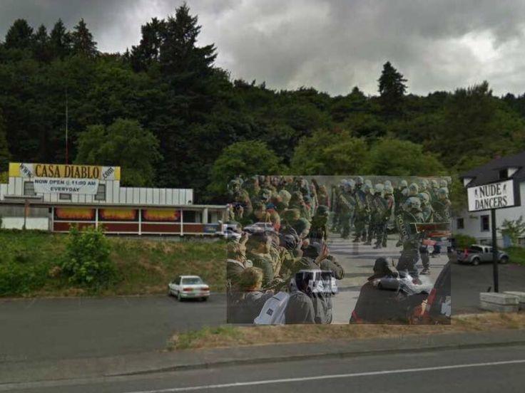 Portland Police arrest 35 in Black Friday vegan strip club riot