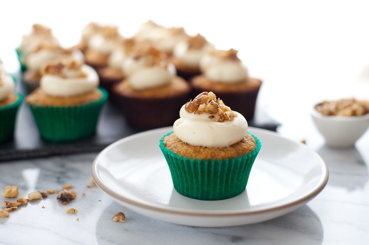 Carrot Cupcakes with Honey Cream Cheese  Ingredients  FOR THE CUPCAKES:  Parchment paper  1/2 c. walnuts  1 1/2 c. all-purpose flour  1 tsp. baking powder  1 tsp. baking soda  2 tsp. pumpkin pie spice  1/4 tsp. kosher salt  1/2 c. dark brown sugar  1/4 c. granulated sugar  2 large eggs  1/2 c. canola oil  2 tbsp. fresh orange juice  1/2 lb. carrots peeled and grated (about 1 3/4 cups)  1/2 c. golden raisins  1/4 c. dried apricots roughly chopped  Get the rest here  http://ift.tt/2efZcXQ…