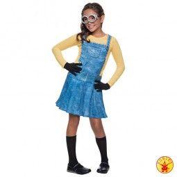 Tolles Minion-Kostüm für coole Mädchen