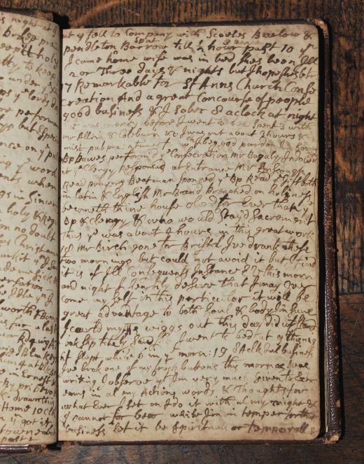 Samuel Pepys diary- August 16th 1665  It was dark before I could get home; and so land at church-yard stairs, where to my great trouble I met a dead Corps, of the plague, in the narrow ally, just bringing down a little pair of stairs - but I thank God I was not much disturbed at it. However, I shall beware of being late abroad again