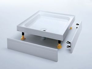 Square-amp-Rectangular-4-Upstand-Riser-Shower-Trays-Various-Sizes