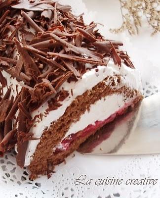 La cuisine creative: Cake Rolls with Cherries