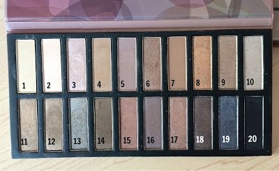 Coastal Scents Revealed Palette - Naked Dupes