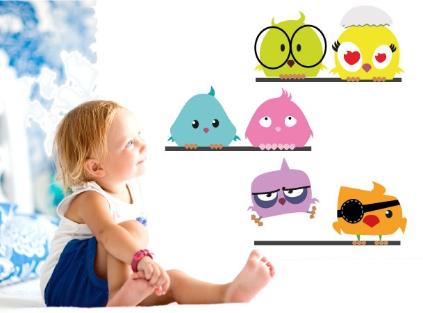 smartwalling, MOVABLE wall decals - Birds on a Wire Wall Decal, $7.95 (http://www.wholesaleprinters.com.au/birds-on-a-wire-wall-decal)