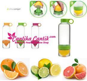 Jual Botol Minum Citrus Zinger Water Murah. Aman , terbuat dari kaca tebal ringan dan berkualitas tinggi. **Selengkapnya: http://c-cantik.me/mal **Order Cepat: http://m.me/cantikacantik.id  KONTAK KAMI DI - PIN BBM 2A8FB6B4 - SMS / WA 081220616123 Untuk Fast Response