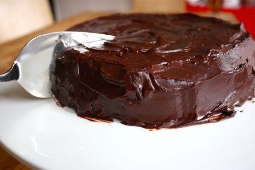 Chocolate cake from mathilda...new contender for birthday cake