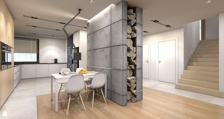 Kuchnia - zdjęcie od A2 STUDIO pracownia architektury - Kuchnia - A2 STUDIO pracownia architektury