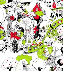 Aarrekid Spring/Summer 2013 Valley/Salaperäinen puutarha Design by Miia Kajaani